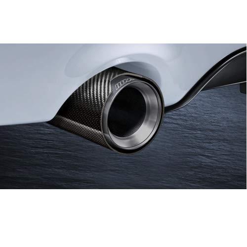 M Performance Endrohrblende Carbon 2er F22 F23 3er F30 F31 4er F32 F33 F36 5er F10 F11 6er F06 Gran Coupe F12 F13