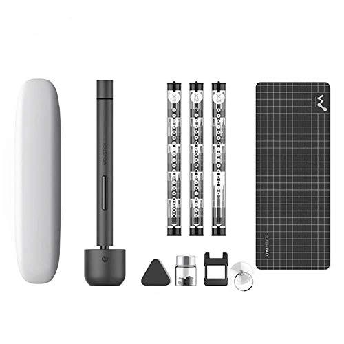 WHRZ Wowstick 1F Pro Upgrade – Atornillador eléctrico portátil, 64 en 1, juego de destornilladores, inalámbrico, recargable, para teléfono móvil, cámara y ordenador portátil