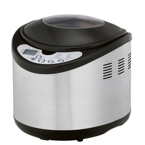 West Bend 41200 Programmable Bread Machine, Stainless: Kitchen & Dining