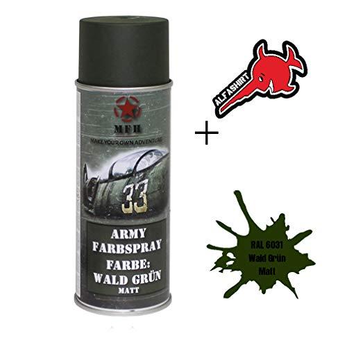 Army Farbspray RAL 6031 Wald Grün Matt Lackfarbe Lack Militär Restaurieren#31719