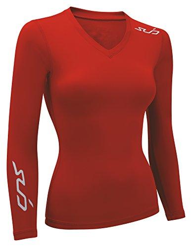 Sub Sports Damen Dual All Season Kompression Long Sleeve Base Layer XS rot