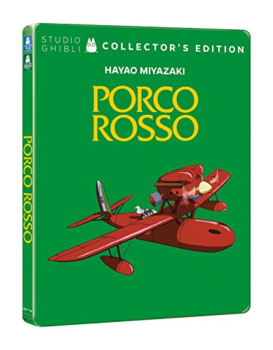 Porco rosso (+DVD steelbook) [Blu-ray] [IT Import]