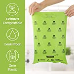 Pogi's Compostable Poop Bags - 9 Rolls (135 Bags) - Leak-Proof, Extra-Large, Plant-based, ASTM D6400 Certified Home Compostable & Biodegradable Waste Bags for Dogs 11
