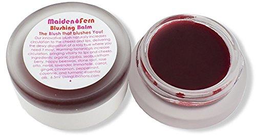 Living Libations  Organic/Wildcrafted Maiden Fern Blushing Balm 17 oz / 5 ml