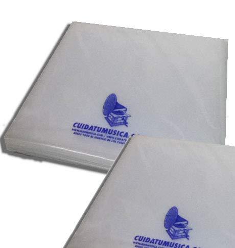 100 Fundas Tipo Cristal para Discos DE Vinilo LP/Ref. 2402 - Marca Cuidatumusica -: Amazon.es: Electrónica