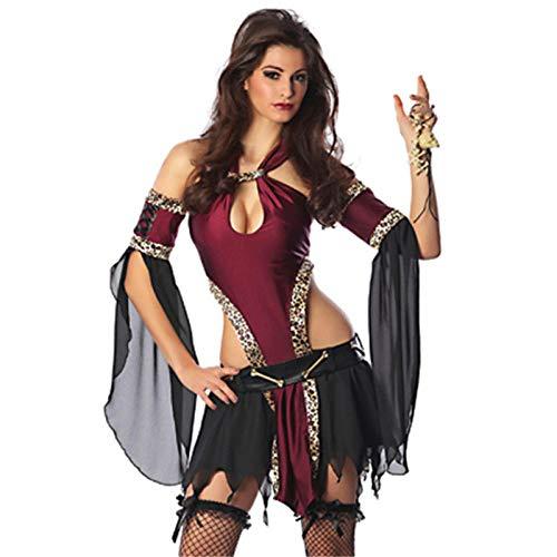 HNJing Erotische Reizwäsche Neue hohe qualität Weihnachten Sexy Königin kostüme tänzer Rollenspiele Kleidung Prom Party uniform Cleopatra Cosplay kostüm-L