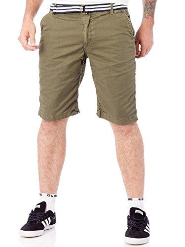 Protest Heren broek FAN Shorts Camo Green S