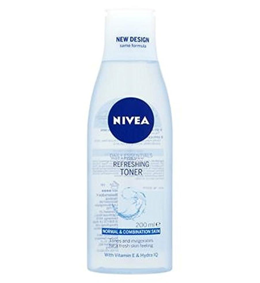 暗記する恐怖症中でNivea Daily Essentials Refreshing Toner 200ml - トナー200ミリリットルをリフレッシュニベア生活必需品 (Nivea) [並行輸入品]