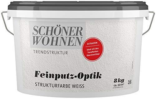 Feinputz-Optik Strukturfarbe extrafein 8 kg Schöner Wohnen