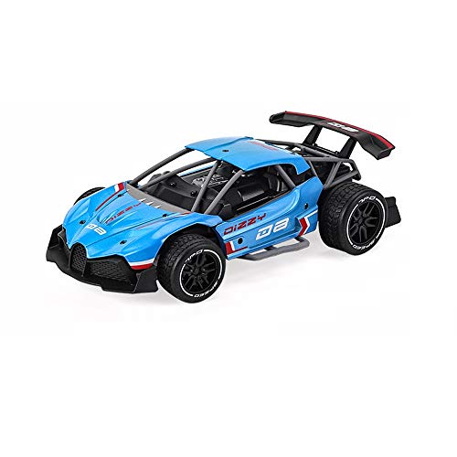 Household items Z-XLIN Elektro-4x4-Antrieb Fernsteuerungsauto- 2.4G Racing-Plan Off-Road-Drift Car Geschwindigkeit 35km Legierung Material, Kinder Off-Road-Spielzeug Fern (Color : Blue)