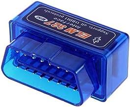 Super Mini ELM327 Bluetooth Torque V2.1 OBDII/OBD-II/OBD2 Protocols Car Auto Diagnostic Scan Tool ELM 327 - Android -BLUE