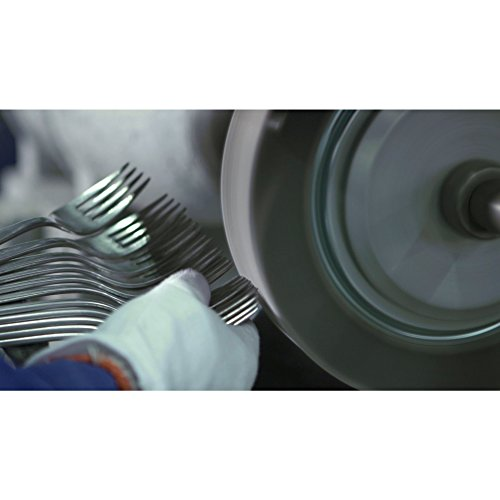 WMF Valea Besteck-Set 16-teilig Menuemesser Menuegabeln Menuelöffel Kuchengabel Cromargan Edelstahl rostfrei poliert spülmaschinengeeignet