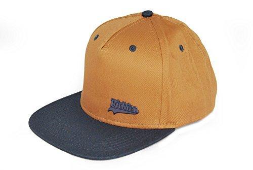 Von Dickies - Casquette de Baseball - Homme marron Caramel-Blau Taille unique