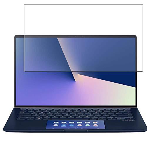 Vaxson Anti Luce Blu Vetro Temperato Pellicola Protettiva, compatibile con Asus ZenBook 14 UX434 Series / UX434FL 14' [Coprire Solo l'area Attiva] 9H Screen Protector Film