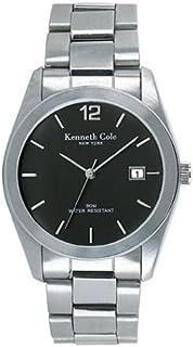 Kenneth Cole New York Men's Japanese Quartz Stainless Steel Case Stainless Steel Bracelet Silve KC3181