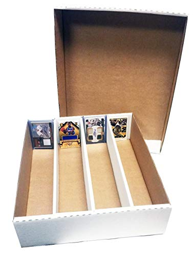 Max Protection (1) Monster Storage Box Holds 3,200 trading cards by MAX PRO MP-3200 HALF LID