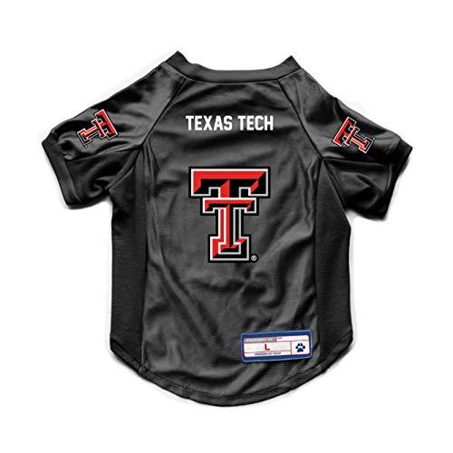 Littlearth NCAA Texas Tech Red Raiders Haustier-Jersey, Stretch, Teamfarbe, Größe M