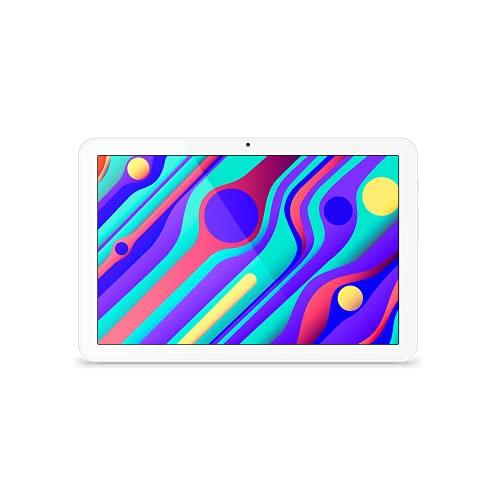 SPC Gravity (2nd Gen) - Tablet de 10,1' HD IPS, 32GB de Memoria ampliables, 2GB de RAM, Altavoces duales estéreo, procesador MediaTek Quadcore a 1,3GHz, USB-C, Color Blanco