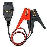Everpert AUTOOL BT-30 - Batería de repuesto para coche OBD2 ECU Memory Saver Automotive cable de alimentación de emergencia