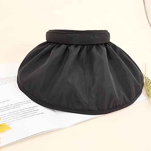 N\C Sombrero Plegable de Verano para Mujer, Sombrero de Concha para Padres e Hijos, Protector Solar para Mujer, Sombrero de Copa Hueco, Sombrero para el Sol Anti-Ultravioleta