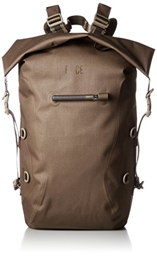 [エフシーイー] バックパック NO SEAM ZIP LOCK BAG CAMEL One Size