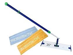 Norwex Microfiber Superior Mop Package, Blue