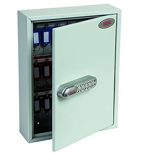Phoenix professionele KC0601E sleutelkasten met elektronisch codeslot (42 haken)