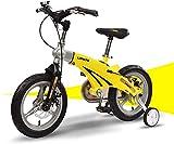 LYP Triciclo Bebé Trolley Trike Bicicleta for niños Conveniente, 12/14 Pulgadas de aleación de magnesio retrollador de bebé niño Modelos de Macho y Hembra Modelos de Bicicleta cómodos