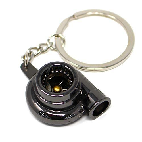 boost-key.com Turbo Schlüsselanhänger Black Chrom - von VmG-Store