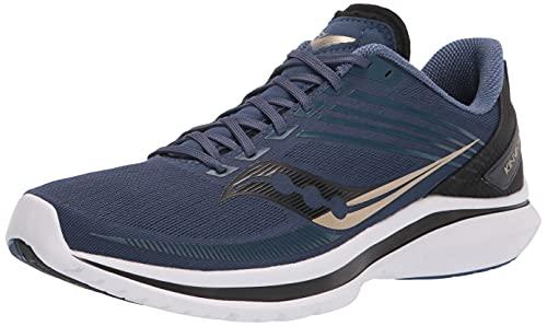 Saucony Men's Kinvara 12 Running Shoe, Storm/Frost, 11