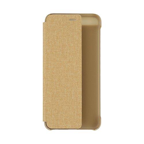 TELLUR TLL185031 Funda Inteligente con Ventana para Huawei P10, Beige