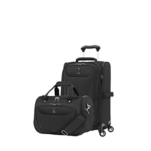 Travelpro Luggage Maxlite 5 | 2-Piece Set | Soft Tote and 21-Inch Spinner (Black)