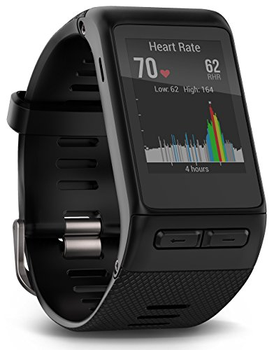 Garmin vívoactive HR GPS Smart Watch, X-large fit - Black (Renewed)