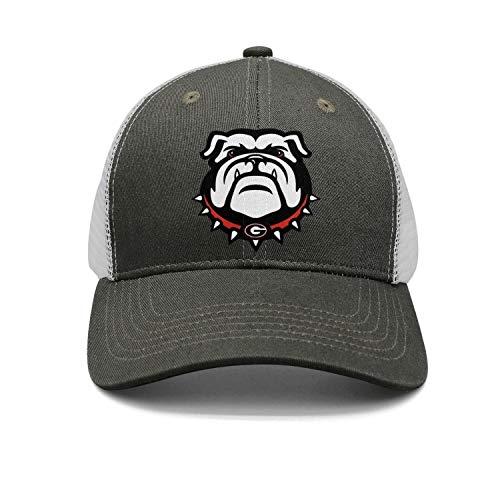 georgia bulldog hats fitted men - 3