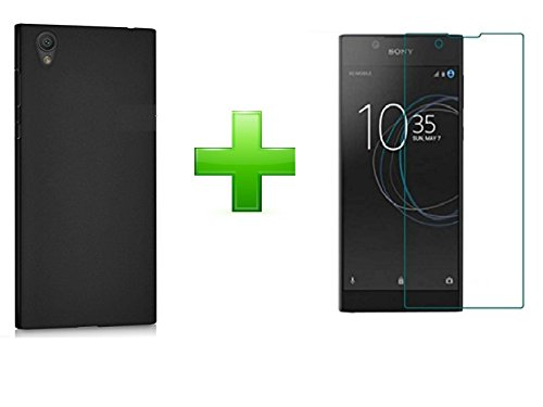 SmartLike Sony Xperia L1 Combo Offer (Silicon Case Cover + 1 Tempered Glass for Sony Xperia L1