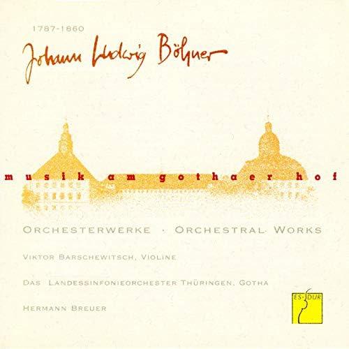 Thüringen Philharmonie Gotha, Hermann Breuer & Viktor Barschewitsch