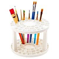 ペン立て 1本ずつ 大容量 ペンたて シンプルペンスタンド 子供/大人 画筆/色鉛筆/ボールペン ペンホルダー プラスチック ペン 収納ケース 筆入れ ペン入れ 便利グッズ 組み立て式 携帯しやすい