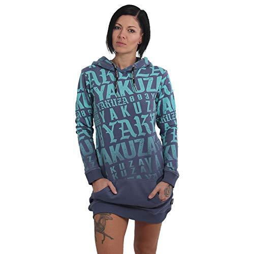 Yakuza Damen Branding Hoodie Kleid