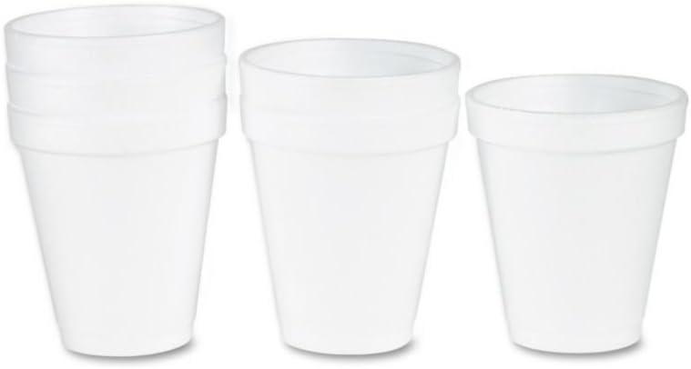 Dart 12J16 Foam Weekly update Drink Cups 1000 White New arrival 12oz Carton