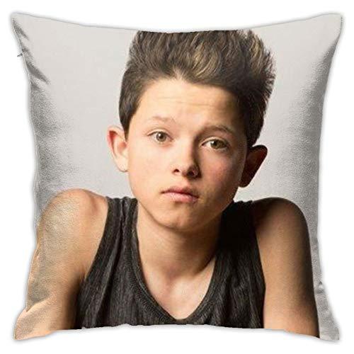 Cute Jacob Sartorius Throw Pillow Cover Cozy...