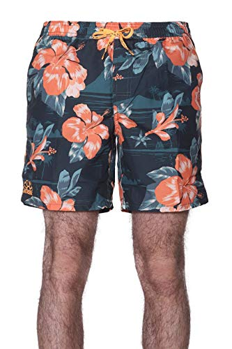 Sundek - Shorts Mare Uomo Fantasia, S, Verde