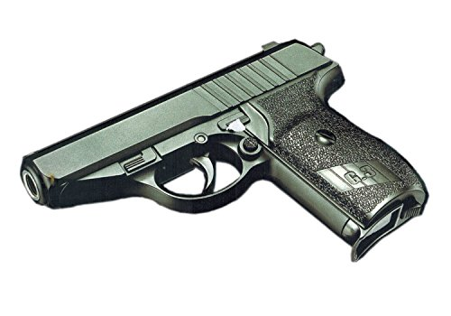 Nerd Clear Softair-Pistole Metall 16 cm Federdruck G3 Spielzeug-Waffe max. 0,5 Joule im Set mit 6 mm BB Airsoft Munition