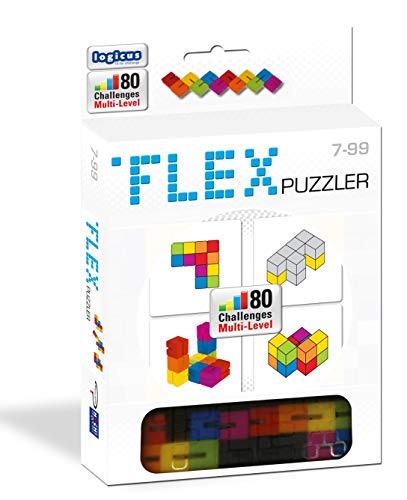 Flex Puzzler (12) - Puzzel - Moeilijke puzzel met 12 blokjes - Voor de hele Familie - Taal: Nederlands