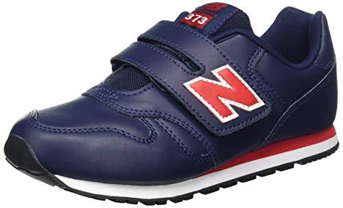 New Balance 373 YV373ENO Medium, Basket garçon, Blue (Pigment ENO), 33