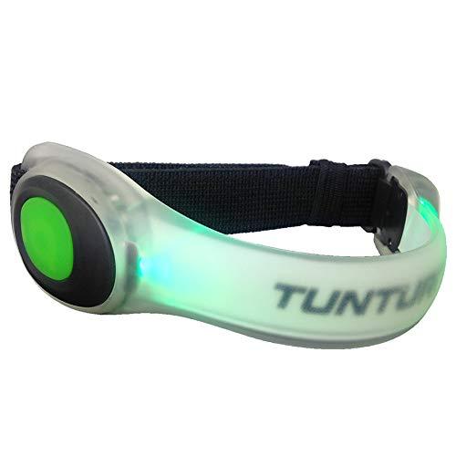Tunturi Armband - LED - Hardloop verlichting - Led armband hardlopen - Hardloop lampjes - Rood, Colour:Red