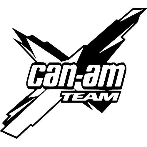 A/X Pegatina de Vinilo para Coche del Equipo Can-Am de 18x16 1 cm Accesorios para el Cuerpo gráficos geniales decoración para el Coche-Blanco
