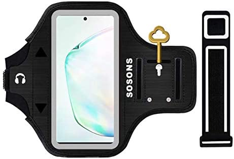 SOSONS Galaxy Note 10 10 Armband Water Resistant Sports Gym Armband Case for Samsung Galaxy product image