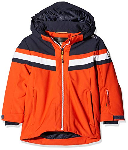CMP Jungen Skijacke Jacke, Orange, 140
