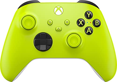 Xbox Wireless Controller – Electric Volt for Xbox Series X|S, Xbox One, and Windows 10 Devices