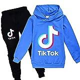 ZKDT Tik Tok - Sudadera con capucha para niña A1. 100 cm